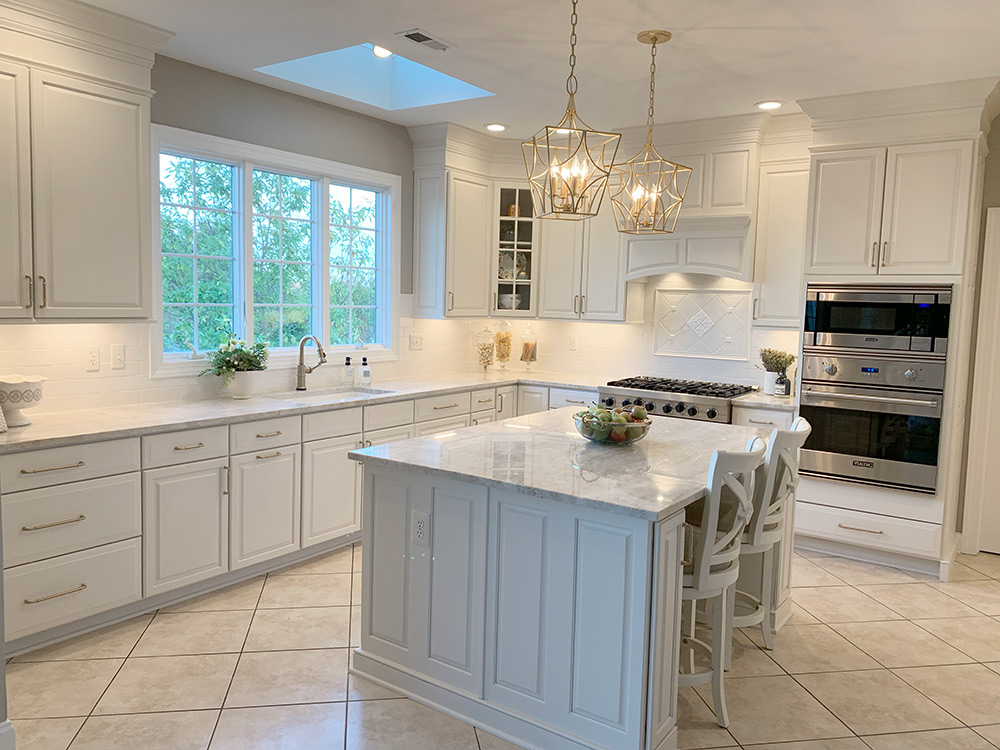 Redesign Kitchen In Yardley Custom Cabinetry Finishes By Sjm Designs